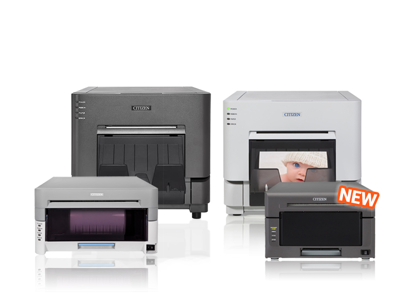 collection of citizen photo printers